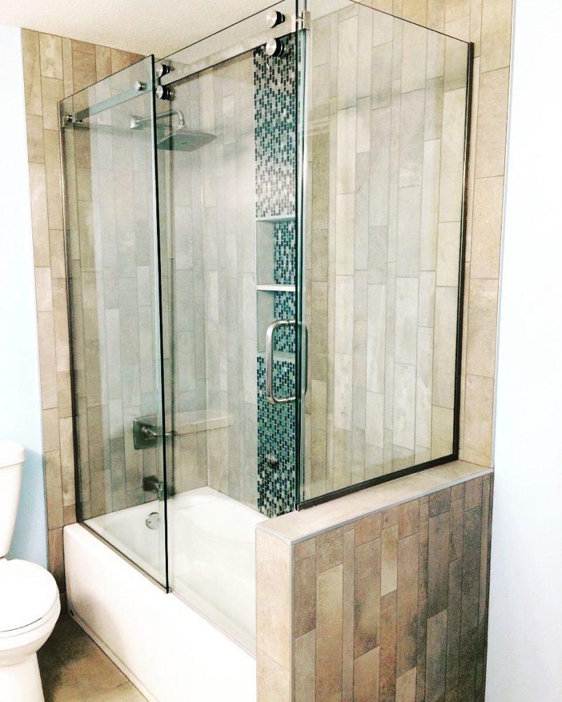 Custom Shower Bath Enclosures, Glass, Mirrors