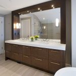 custom bathroom vanity mirror by Hopkins Glass Minnesota MN