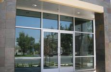 commercial storefronts and entrances by Hopkins Glass MN