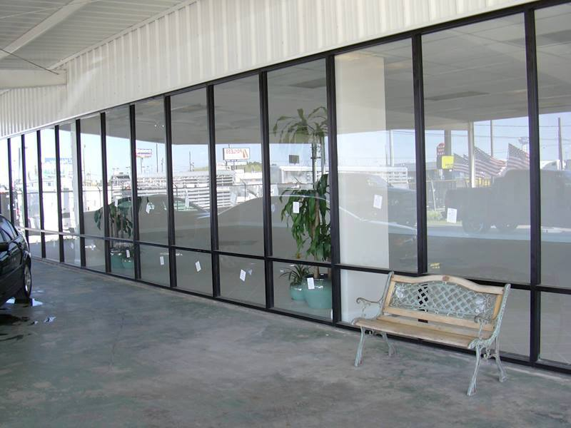 commercial storefront by Hopkins Glass MN