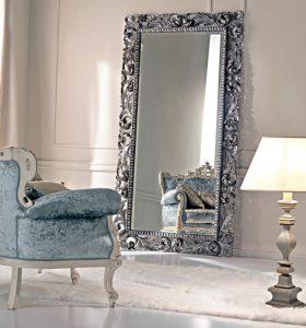 large custom cut framed floor mirror Hopkins Glass and Shower Door Minnesota