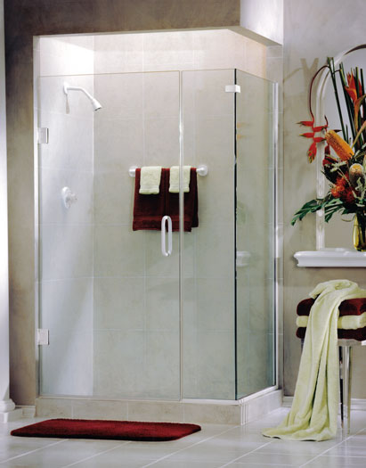 frameless glass shower doors and enclosures Hopkins Glass and Shower Door