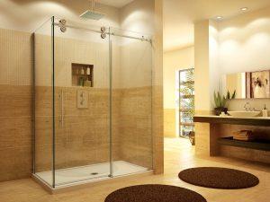 frameless glass shower doors and enclosures Hopkins Glass and Shower Door