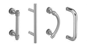 frameless glass shower doors hardware, door pulls