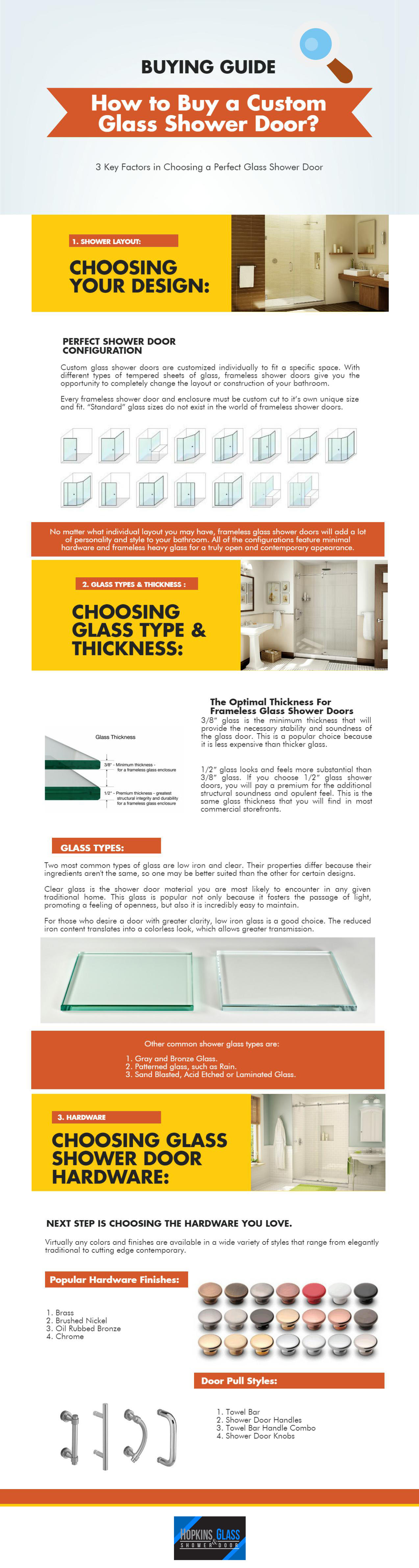 frameless glass shower doors buying guide Hopkins Glass Minnesota